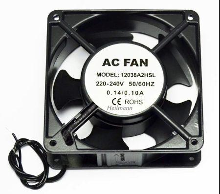 Ventilátor Fengda 120x120x38 mm 220-240 V ~ 50/60Hz  0,14A