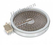 Zanussi - Electrolux - Whirlpool - Bosch Siemens főzőlap, kerámialapos fűtőtest D180 mm 1800W 230 V 3740636216 ; 481231018889,  1058113032 Pl: HN55325 ; EKV5600 ;NPF651A01E01