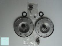 Whirlpool mosógép dobtengely   18464  COD: 085   rozsdamentes  készlet  csavar készlet + 2 tengely tömítéssel.