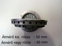 Gáztűzhely égőfedél  Vesta - Karancs  tűzhelyhez 4 cm, 5 cm és  6 cm átmérőjű /db. (kérem megjegyzésbe írják meg, hogy melyik méretűt kérik)