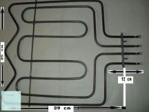 Villanytűzhely sütő fűtőbetét Pelgrim 230V 2200 W / 1000 W RA1N1542