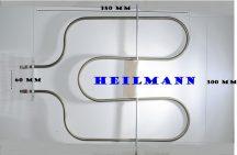 Villanytűzhely sütőbetét    230 V  1200 W Bosch-Siemens  alsó fűtőbetét 00360661 Pl.: HSW185DBY