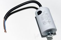 Kondenzátor 450 V 12,0 mF kábel + csavar Ø35x65mm.