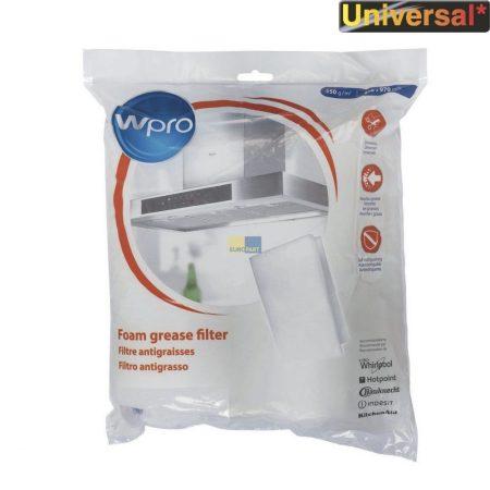 Páraelszívó betét (zsírfogó ) telítettség kijelzős Wpro 150 g  (a csomag 1db. 470 x 970 mm betétet tartalmaz) 4801 817 00643 , 484000008523