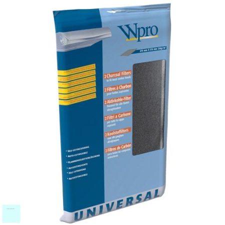 Páraelszívó betét (kombinált szűrő 2 az egyben ) zsír és szénszűrő betéttel  (a csomag 1db. 470 x 970 mm betétet tartalmaz)  450 g/mq   4801 807 00646,  48400008524