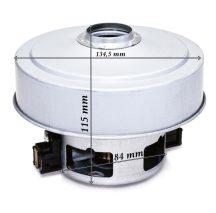Porszívó motor 1400 W univerzális , fémházas Samsung Model 030UN SKL szélkeréknél csőrrel ( VCM-K40HU helyett is ) Pl.: SC4321 ; SC84 60-80