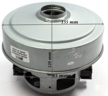 Porszívó motor 1800 W univerzális  fémházas  Samsung VAC044UN  P.: SC84 60-80  Pl.: SC4780 ; SC4321 ; SC84 60-80