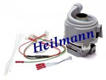 Bosch - Siemens mosogatógép keringető szivattyú + fűtés eredeti 00654575 Pl.: SX65M084EU/18, SMS60M02EU/02