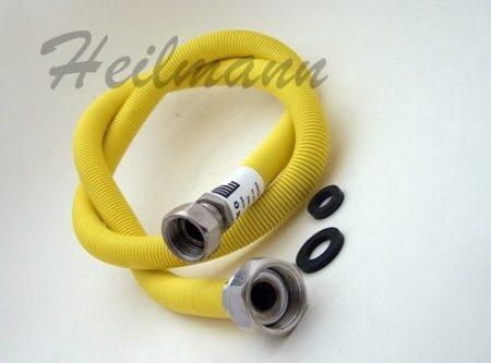INOX kihuzható gázbekötő tömlő 300 - 600 mm BB 1/2