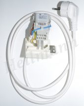 Indesit mosógép hálózati kábel + zavarszűrő kondenzátor   C00091633 helyettesítője 9 sarus