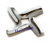 Moulinex húsdaráló négyélű  kés (HV) A09B03 (4oldalas  tengelyhez)