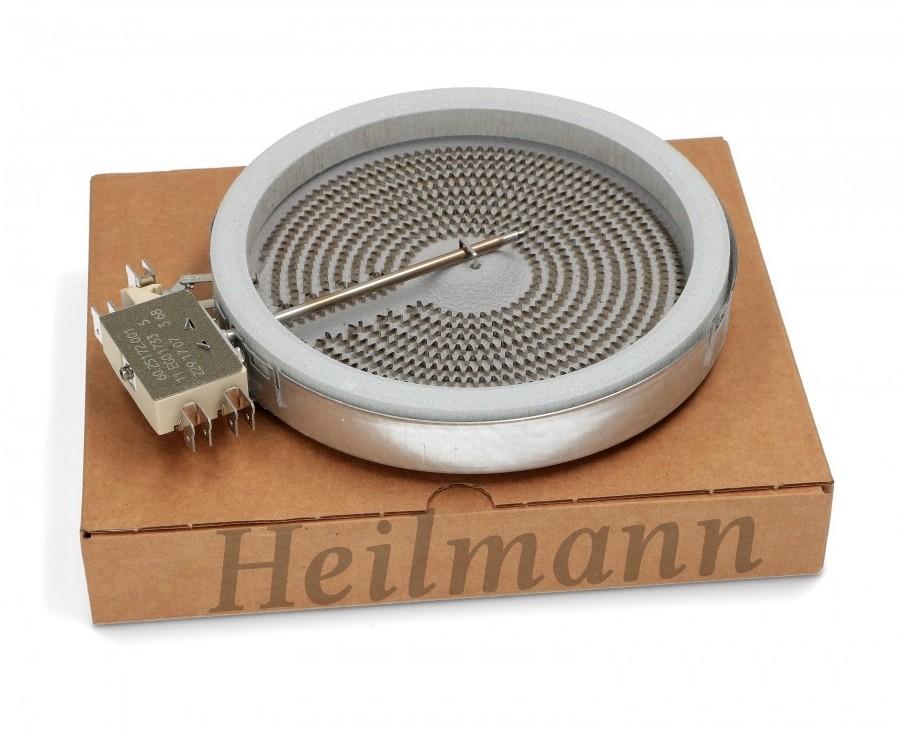 Zanussi - Electrolux - Bosch - Siemens - Whirlpool főzőlap, kerámialapos fűtőtest D 145 /1200 W 230 V 3740635218 ; 00289561 Pl.: AKR105IX