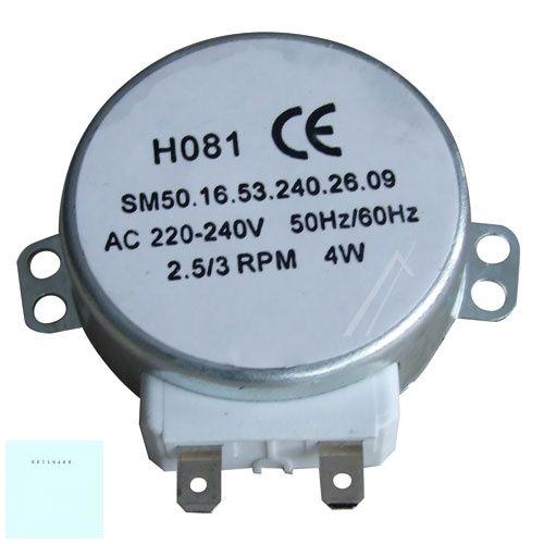 Mikrohullámú sütőhöz tányér motor HO81  220-240 V   4 W univerzális  405509705/1