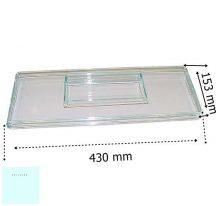 Zanussi - Electrolux hűtő előlap tárolódobozhoz  H153 mm  750  242633506/9  ;  242633501/0 (rendelésre)