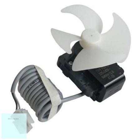 Hűtő ventillátor motor + lapáttal + vez. 2260065319 eredeti (rendelésre)