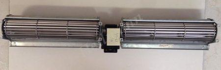 Hűtő ventilátor motor 180mm x 2 duó tangenciális (rendelésre)