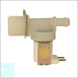 Mágnesszelep I utas vékony csonkú 180 fok 12mm( - )# Pl.: Beko  - Indesit - Whirlpool 481281729056#