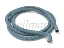 Leeresztő cső gégecsöves 300 cm    egyenes - könyökös véggel  Ø19-22mm