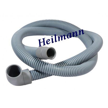 Leeresztő cső gégecsöves (- , L pipa) 200cm  Ø19-22mm