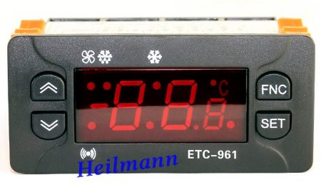 Elitech digitális hűtésvezérlő ID 961 helyett  1 NTC ETC-961