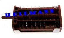 Zanusi - Electrolux  tűzhely sütő kapcsoló 8+0         357059801/5 Pl.: EOB6711X (rendelésre)