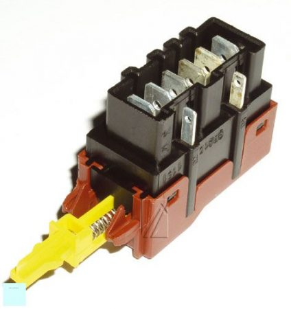 Zanussi - Electrolux főkapcsoló felül töltős (6+2 érintkezős nyomókapcsoló) 124927140/2 (rendelésre)