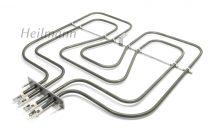 Zanussi - Electrolux sütő fűtőbetét felső fűtőszál 800/1650W 230 V 3970129015 Pl.: EKC54552OX