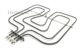 Zanussi - Electrolux - AEG sütő fűtőbetét felső fűtőszál 800/1650W 230 V 3970129015 # Pl.: EKC54552OX ; ZOU251X #