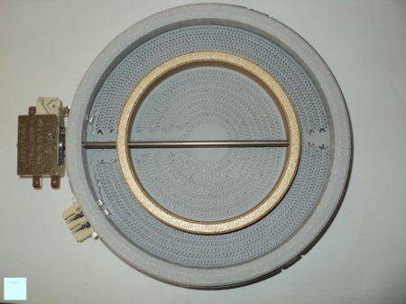 Zanussi - Electrolux fűtőtest kerámialapos főzőlap D120/180, 1700 W, 230 V   ( 2 körös ) 374075421/7