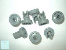 Zanussi - Electrolux mosogatógép kosár görgő felső 50286967000 8 db/csomag Pl.: ZDS 300 ; ESF 65040W ; ZDI 1300 1XA ; ZDI311X ; ZDI121X  ; ESF63021 ; FAAAUTO ,  D = 24 mm ; AEG FAVORIT 86080 ; ZDIS10