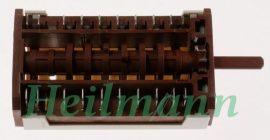 Zanussi  - Electrolux  sütőkapcsoló 3570596019 - 3570331011 - 3570671010  9+0 állássú Pl.: ZBC741N # (rendelésre)#
