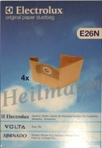 Zanussi - Electrolux porszívó zsák E26N     9001969287 (rendelésre)