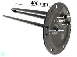 Electrolux - AEG bojler alaplap (zárólap) EWH100R ; #EWH-100 SL 311011040-00/4 ; CB-150 N ; CB-150 N CCC Pl.: EWH-200 R ; Fagor AS0019133 #