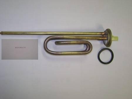 Olasz fűtőbetét  (peremes) 2000 W (lágy forrasztással -ónozott) (anódtartó nélkül)