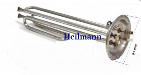 Olasz bojler rozsdamentes acél alaplap fűtőbetéttel  THERMEX 1500W+1000W 220V hossz 275+315mm.