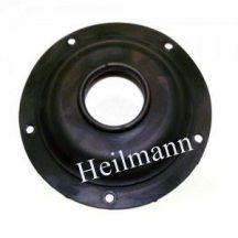 Olasz bojler alaplap tömítés (5 lyukas, fekete) THERMEX-ISEA  D = 130 mm