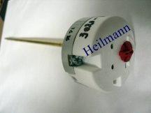Hőmérséklet szabályozó és korlát.kerek FLAT 6312040098 (piros gomb)
