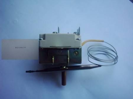 Hőmérséklet szabályozó fritőz 3 fázisú 5270-0-104-4 (50-190 fokra 6 pol.) 5270-0-104-7-F Kap.cső 1920mm