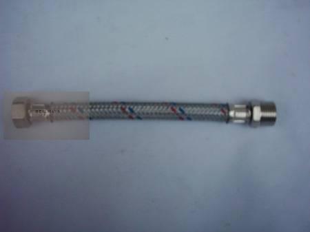 Flexibilis bekötőcső 1/2x1/2 KB 20cm
