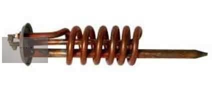 Csőfűtőtest spirál 1500  W (Hajdu FN 5-10 L bojlerhez )