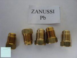 Gáztűzhely fúvóka garnitúra   Zanussi     Pb gázhoz    ( menet átmérő 6  mm  ) 5 026 994 100/6