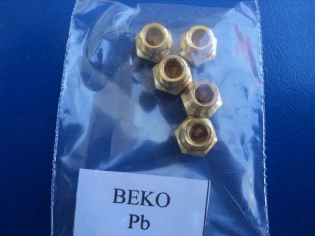 Gáztűzhely fúvóka garnitúra BEKO Pb gázra    M 7 mm menettel