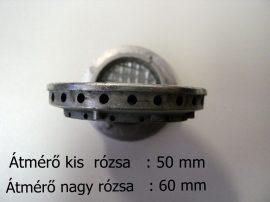 Gáztűzhely égőfedél  Vesta - Karancs  tűzhelyhez 4 cm, 5 cm, 6 cm átmérőjű / db. # (kérem megjegyzésbe írják meg, hogy melyik méretűt kérik) #
