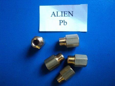 Gáztűzhely fúvóka garnitúra  Alien, Delton, Orion        Pb gázra M6 menettel