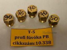 Gáztűzhely fúvóka garnitúra FÉG  T-5 Tip. Pb gázra menetátmérő: 8 mm