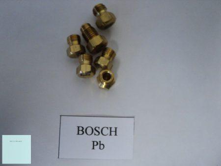 Gáztűzhely fúvóka garnitúra   Bosch    Pb gázhoz    ( menet átmérő 6 mm )
