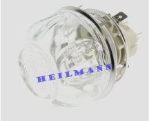 Sütő világítás foglalat + bura hátsó 25 W     389079332/0 ,  387937693/1 pl.: EKC 5603x , EKC 560 3X ; pl.: ZOB tűzhely