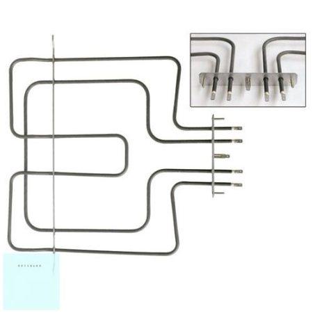 Whirlpool villanytűzhely felső fűtőbetét 230 V 900 /1600 W 481225998466 ; 481225998474 #eredeti, gyári Pl.: AKP230IX #;