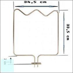 Villanytűzhely sütő alsó fűtőbetét 230 V 1300 W (BEKO -Delton) eredeti, gyári