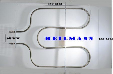Villanytűzhely sütőbetét    230 V  1200 W Bosch-Siemens  alsó fűtőbetét 00360661